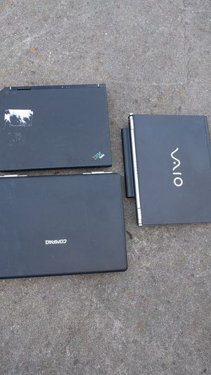 Laptops for parts or repair. for Sale in San Leandro, CA
