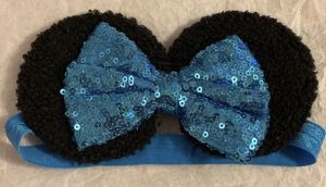 Blue baby Mickey ears for Sale in Tarpon Springs, FL