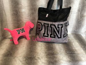 VS Pink Large Tote Bag for Sale in Houston, TX