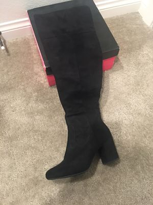 New black suede Charlotte Russe boots for Sale in Chula Vista, CA