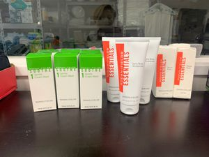 Rodan fields, Gentle cream wash and Daily body moisturizer and Gauze pads for Sale in Santa Ana, CA