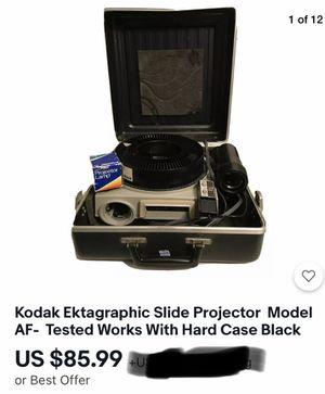 Kodak ektagraphic slide projector for Sale in Dallas, TX