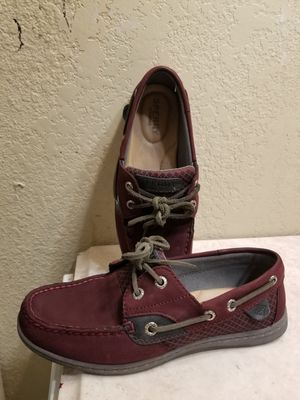 Burgandy Sperries size 6 for Ladies for Sale in Houston, TX