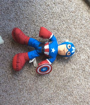 Stuffed captain America for Sale in CA, US
