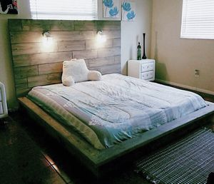 Best Beds Ever! No creaking, no noise. Your choice of stain and colors! Modern low profile ZEN beds. Solid . Custom Built, any size, made to orde for Sale in Tampa, FL