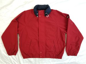 Vintage tommy Hilfiger Windbreaker hoodie jacket Excellent Condition $50 for Sale in Las Vegas, NV