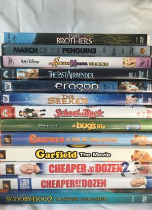 DVDs - 13 kids movies for Sale in St. Louis, MO