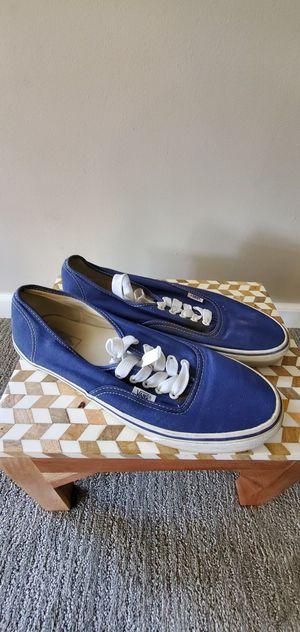 Blue vans size men 12 for Sale in Edmonds, WA