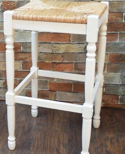 Carolina Cottage Hawthorne 29 in. Antique White Bar Stool for Sale in Dallas,  TX
