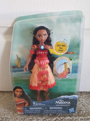 Disney Moana Doll (singing doll) brand new for Sale in Sanford, FL