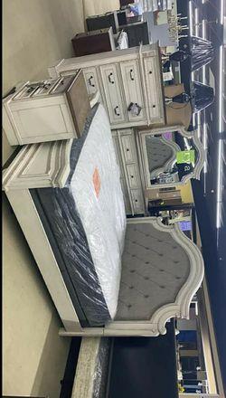 💲39 Down Payment🆕️ Special Realyn Queen Bedroom Set G456👆IN STOCK👆 for Sale in Alexandria,  VA