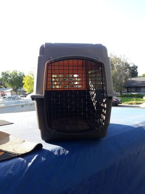 Big dog crate 30 inch long, 24 inches tall for Sale in Stockton, CA