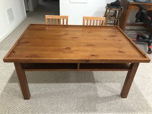 Pottery Barn Kids Carolina Activity Table with 2 Chairs for Sale in Daniels, MD