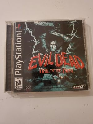 Playstation 1 Evil Dead, Hail to the king for Sale in Goldfield, IA