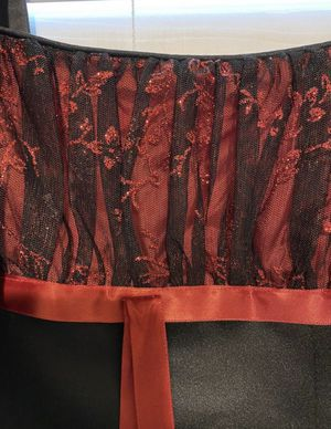 Black and red dress for Sale in Scottsdale, AZ