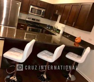 Brand new 3 white stools for Sale in Orlando, FL