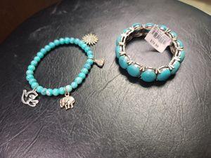 Genuine turquoise bracelet set for Sale in Gainesville, GA