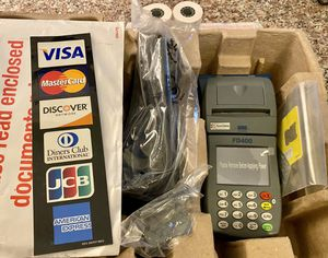 FD400 Wireless (Portable) Credit/Debit Card Terminal - Brand New (out of box) for Sale in OGONTZ CAMPUS, PA