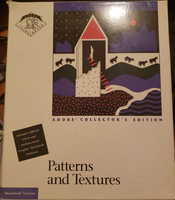 Adobe Collector's Edition: Patterns and Textures (Mac) (NIB)