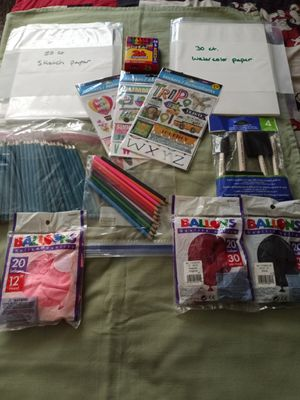 Kids Art Supplies Bundle for Sale in Fresno, CA