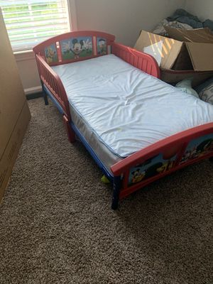 Mickey Mouse Toddler bed for Sale in Snellville, GA