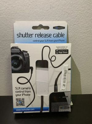 ioShutter Shutter Release Cable with Canon E3 Connector for Sale in Brooklyn, NY
