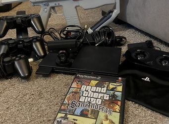 OEM Sony PS2 SLIM Video Game System Gaming Bundle Console Set Playstation-2 Mini for Sale in Tulalip,  WA