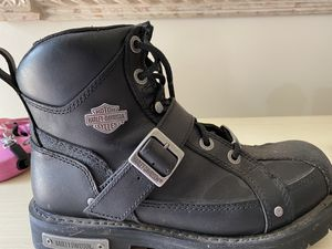 Harley Davidson men's 10.5 riding boots for Sale in Darien, IL