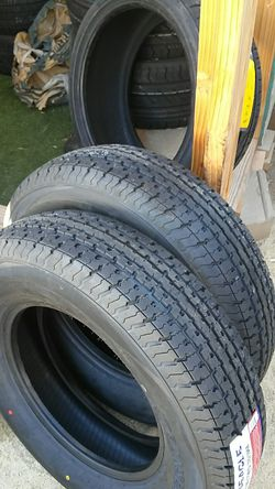 4 new trailer tires 205/75/14..8 ply..load D for Sale in Palmdale,  CA