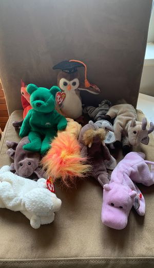 Lot of 10 Beanie Babies for Sale in Atlanta, GA