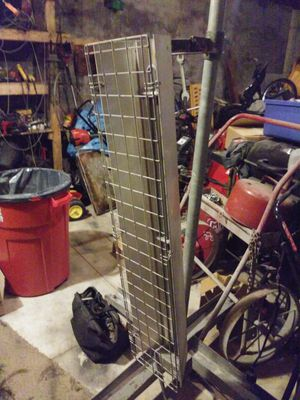 Garage heater 3foot on rolling stand 220v plugg for Sale in Cleveland, OH
