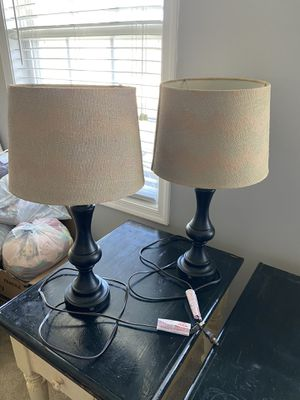2 Lamps for Sale in Remington, VA