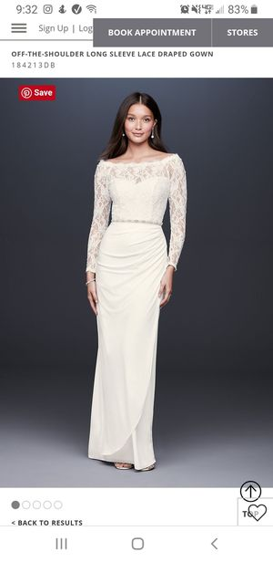 Plus size wedding dress for Sale in Mountlake Terrace, WA