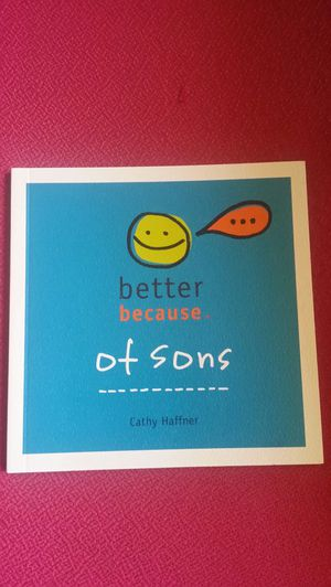 Better because of sons book for Sale in Milton, FL