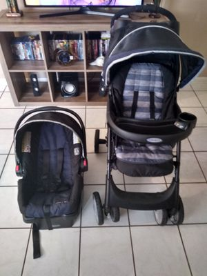 Graco stroller with car seat for Sale in Lakeland, FL