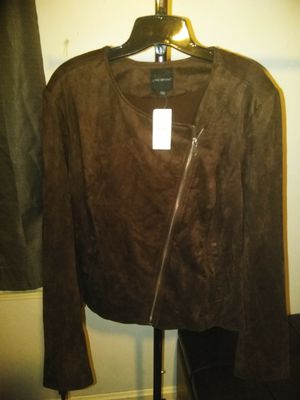 Lane Bryant Suede Fringe Jacket for Sale in Parma Heights, OH