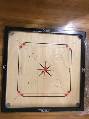Carrom board with coin set for Sale in Salem, NH