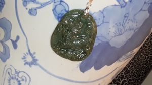 Antique certified Chinese Jade necklace for Sale in Reidsville, NC