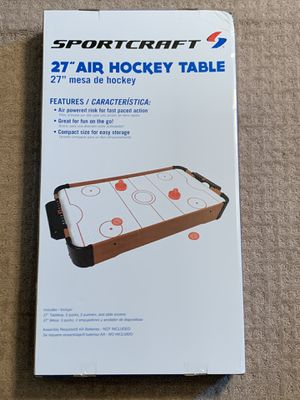 Brand New Sportcraft Air Hockey Table for Sale in Palmetto, FL