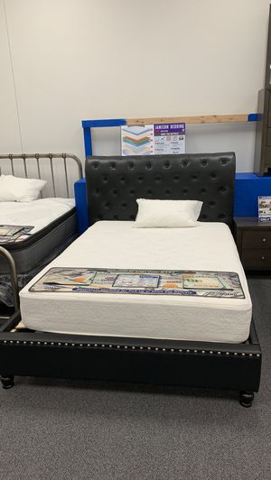 Black platform bed frame for Sale in North Little Rock, AR