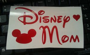 Disney mom decal sticker lot for Sale in York, PA