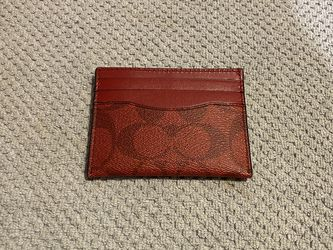 Red Coach Card Holder for Sale in Quincy,  MA