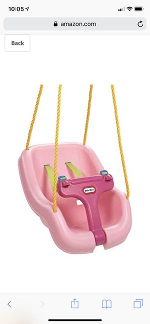 Little Tikes 2-in-1 Snug 'n Secure Swing for Sale in Coral Springs, FL