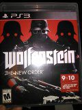Wolfenstein game new for ps3 for Sale in Fitzgerald, GA