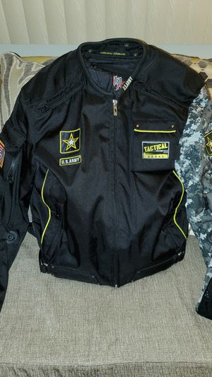 us.army motorcycle jacket for Sale in Niles, IL