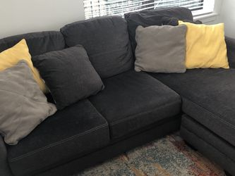 Queen Sleeper Sofa Couch with Adjustable Chaise for Sale in Houston,  TX