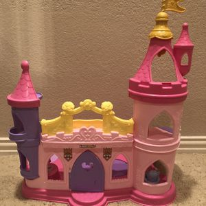 Fisher Price Little People Disney Princess Castle for Sale in Humble, TX