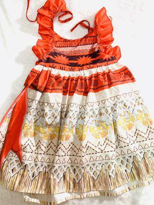 5/6yrs Moana dress for Sale in Chula Vista, CA