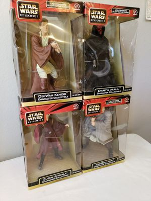 Starwars episode 1 collection action figures for Sale in Westminster, CO