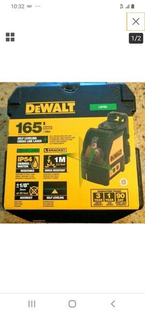 Dewalt self leveling cross line laser 165' for Sale in San Jose, CA